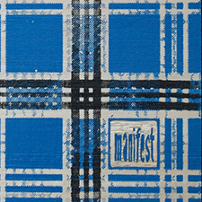 blue checkered image